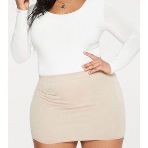 Pretty Little Thing Ponte Mini Skirt - NWT